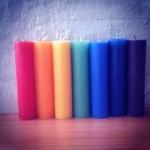 Chakra candles-large